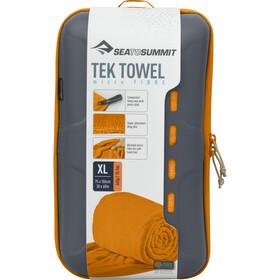Sea to Summit Tek Serviette pour chien XL, orange